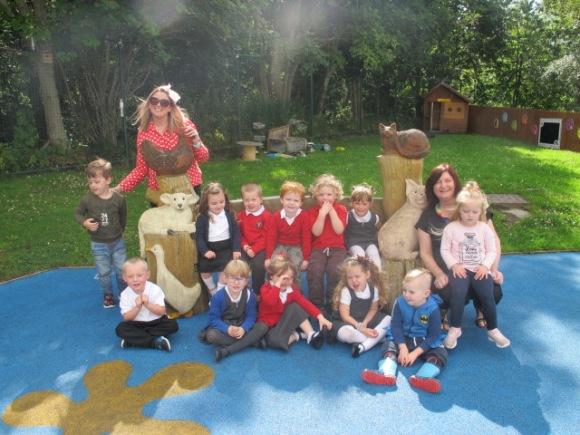 Nursery Class Picture- Blog