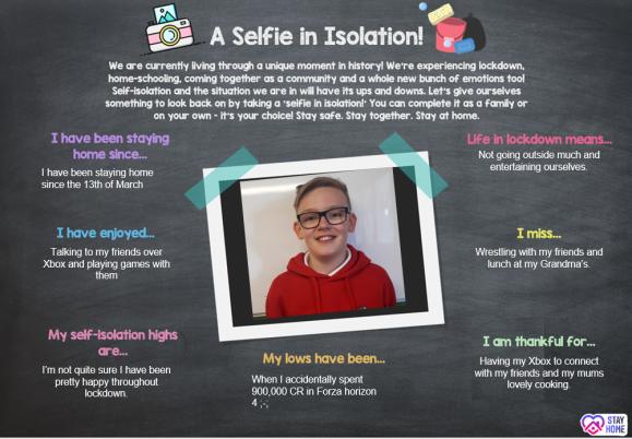 Selfie in Isolation 1