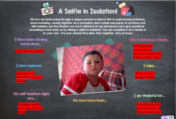Selfie in Isolation 2