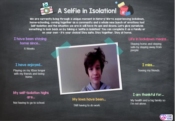 Selfie in Isolation 3