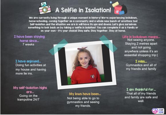 Selfie in Isolation 4