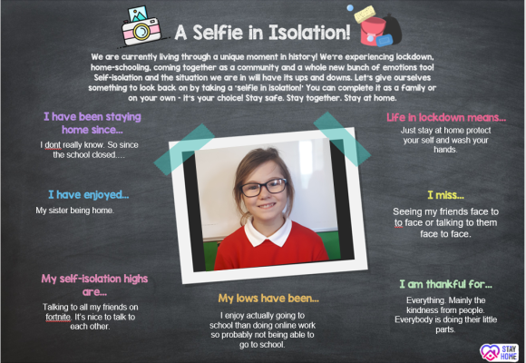 Selfie in Isolation 5