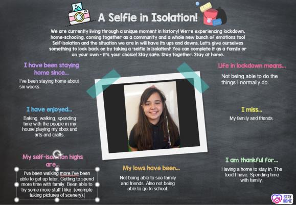 Selfie in Isolation 6